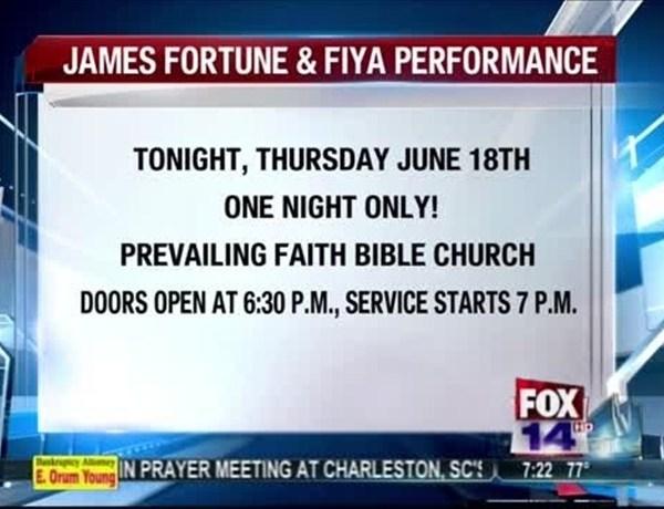 James Fortune & Fiya at Prevailing Faith Bible Churh_9167366569182448679