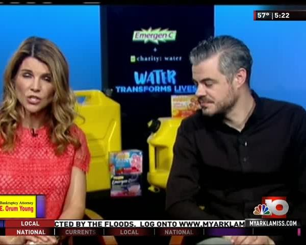 Actress Lori Loughlin on Clean Drinking Water Initiative_42253726-159532