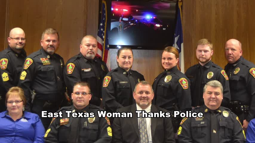 VIRAL- Woman thanks police department_93973995-159532-3156084