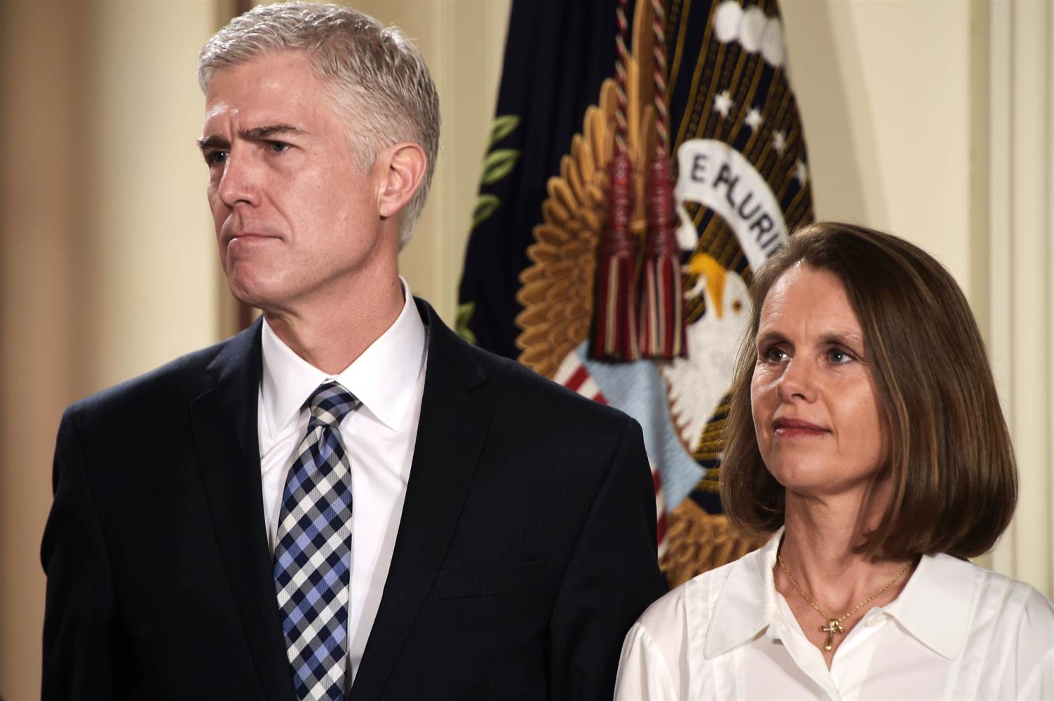 Judge Neil Gorsuch his wife Marie Louise