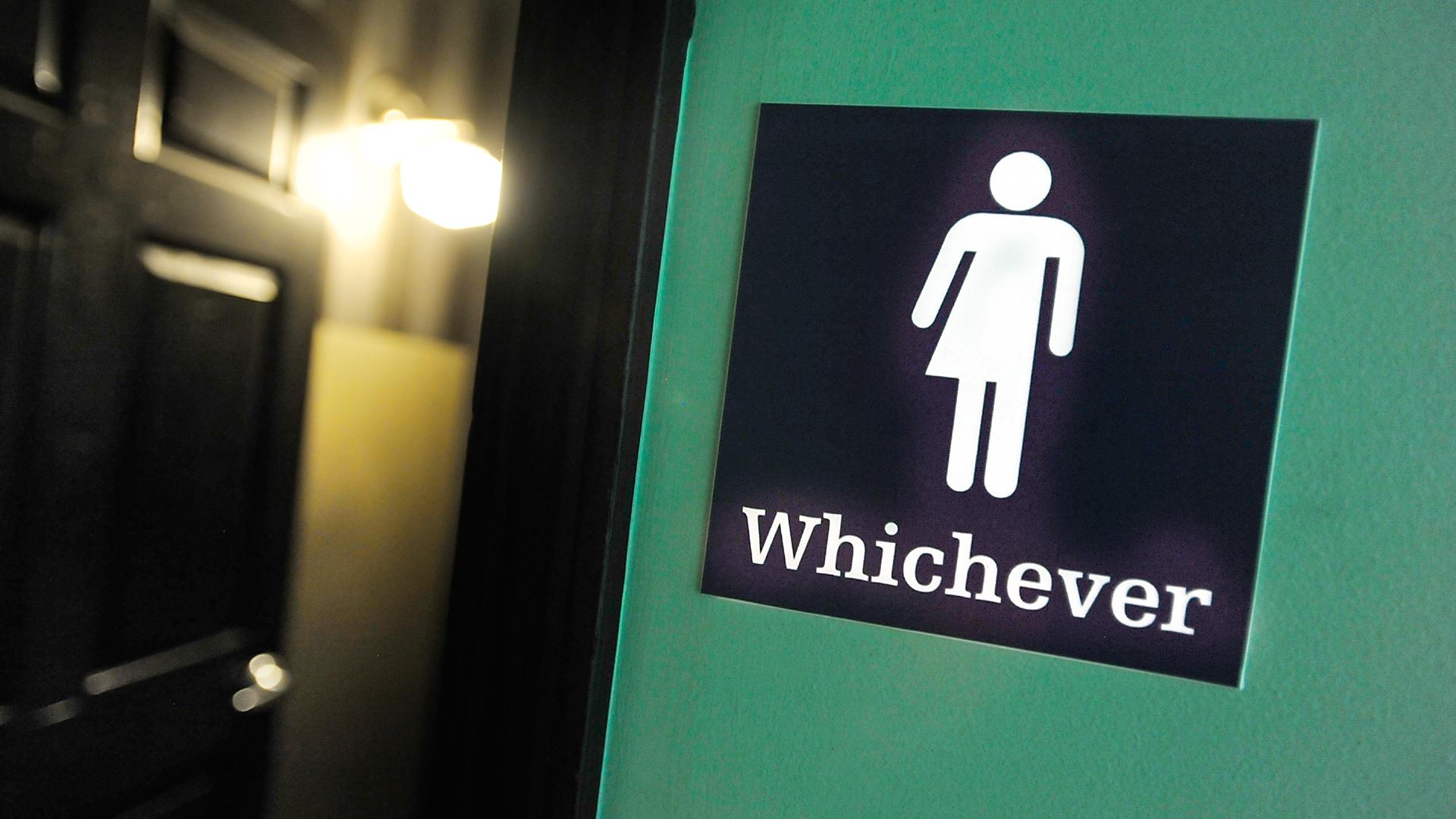 Whichever Bathroom Sign Gender Transgender Bathroom Bill16548258-159532