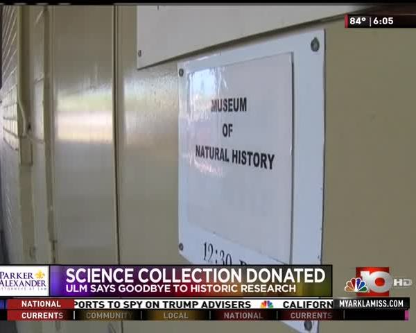 Science Collection Donated