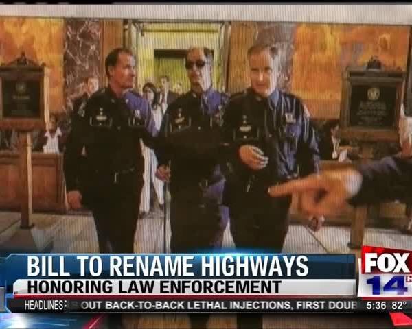 Bill to Rename Highways