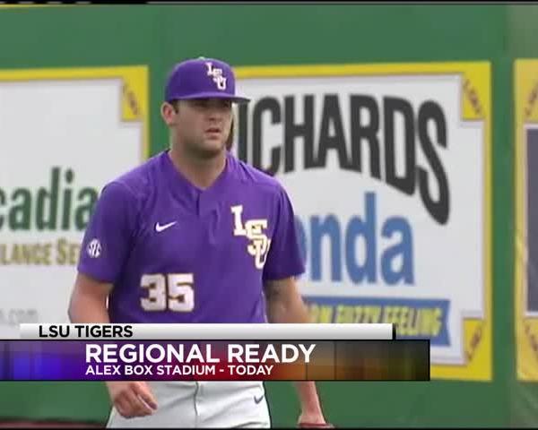 LSU Baseball prepares for regionals_23229160
