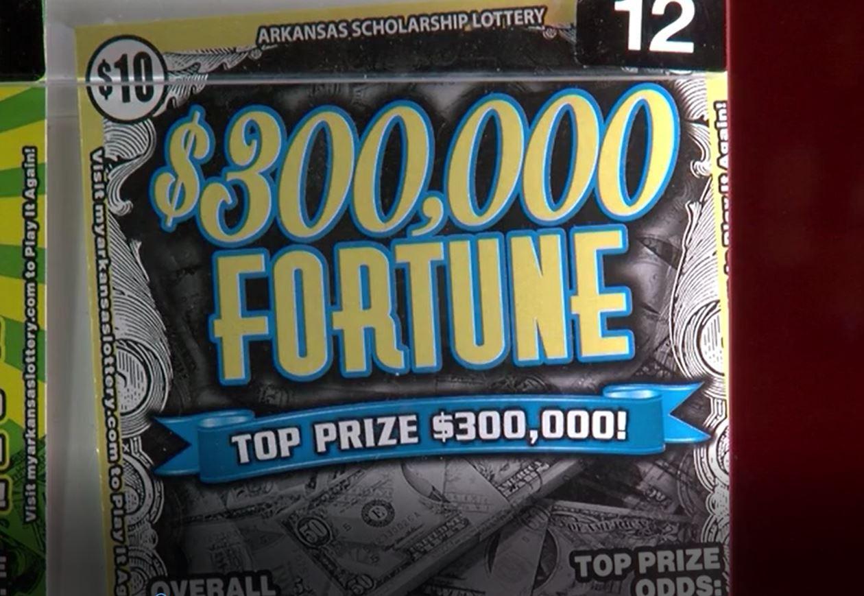 AR waitress says co-worker didn't split $300,000 lotto ticket