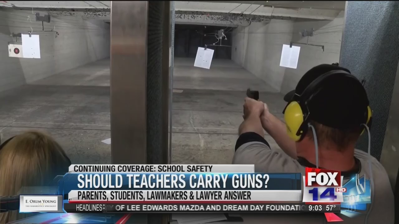 Concealed carry conversation: Should teachers be allowed to bring