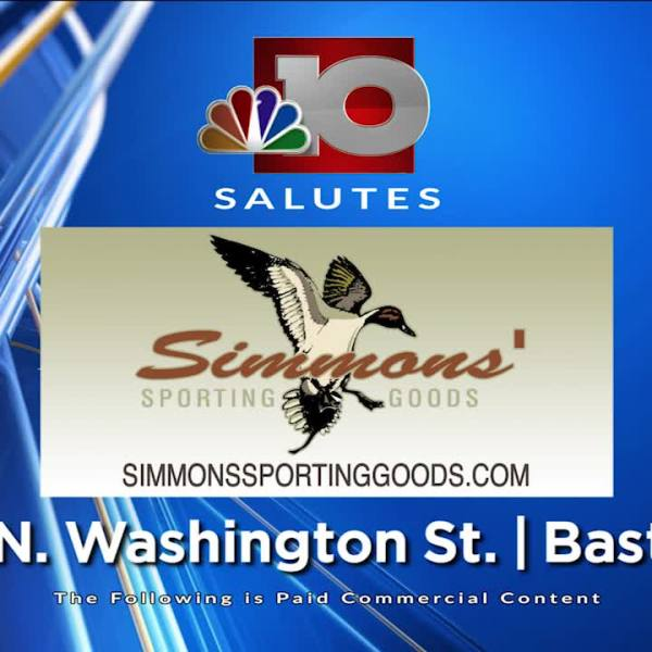 Simmons Sporting Goods NBC 10 Salute