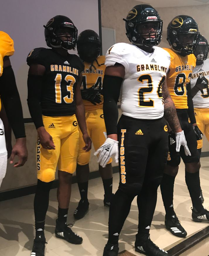buy popular a167d 5b3ce Grambling State unveils new uniforms