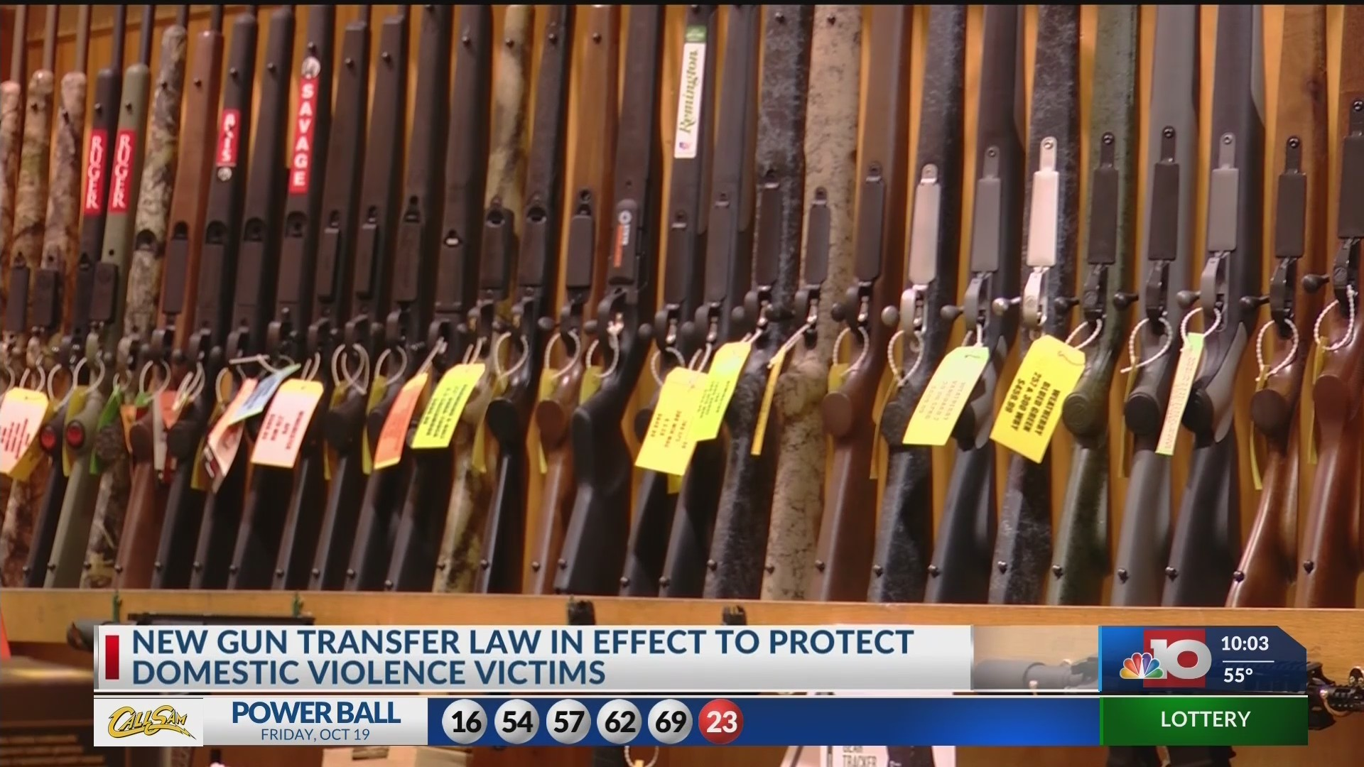 New gun law in effect to protect domestic violence victims