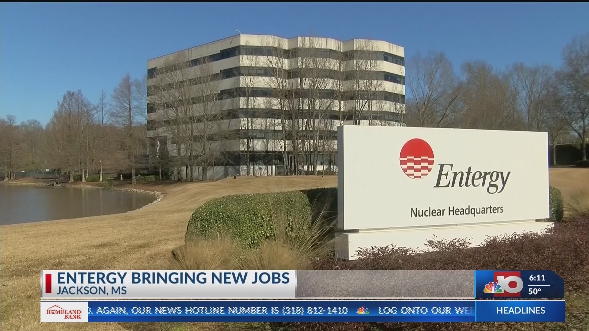 Entergy adding 250 jobs to nuclear headquarters in Jackson