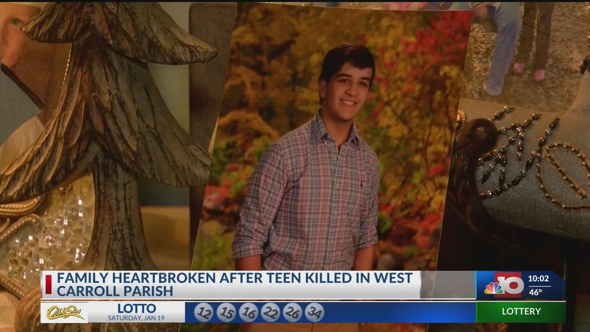 Family heartbroken after teen killed in West Carroll Parish