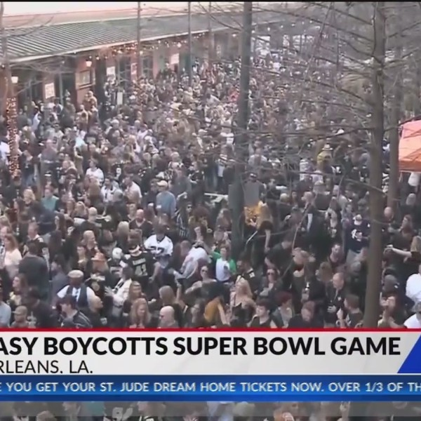 Big Easy boycotts super bowl game