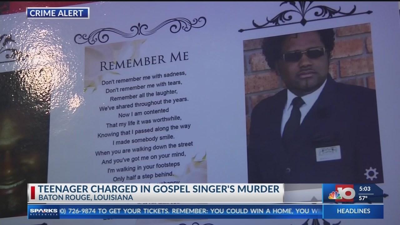 Louisiana teenager accused of killing Baton Rouge gospel singer