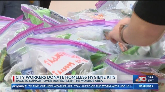 City of Monroe teams up with United Way to donate hygiene