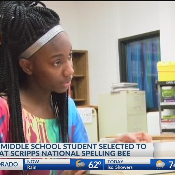 Crossett Middle School student selected to compete at Scripps National Spelling Bee