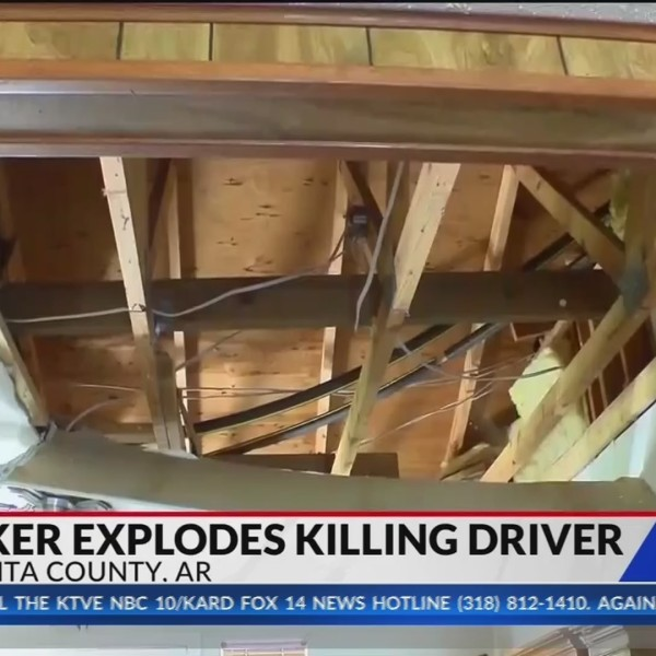 Driver killed, nearby homes destroyed after truck explosion on Ouachita Co. hwy