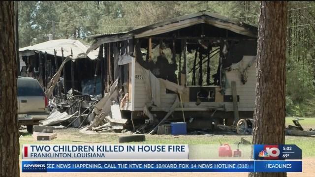 2 children dead, 3 hurt after Washington Parish mobile home fire