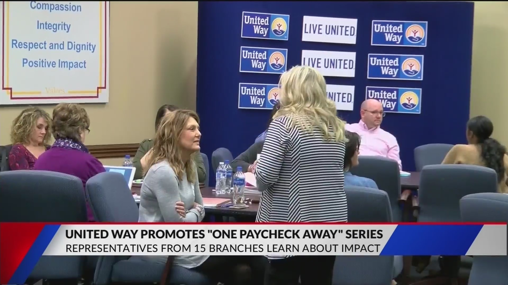 NBC 10/FOX 1 helps United Way to promote 'One Paycheck Away' series with other chapters in the south