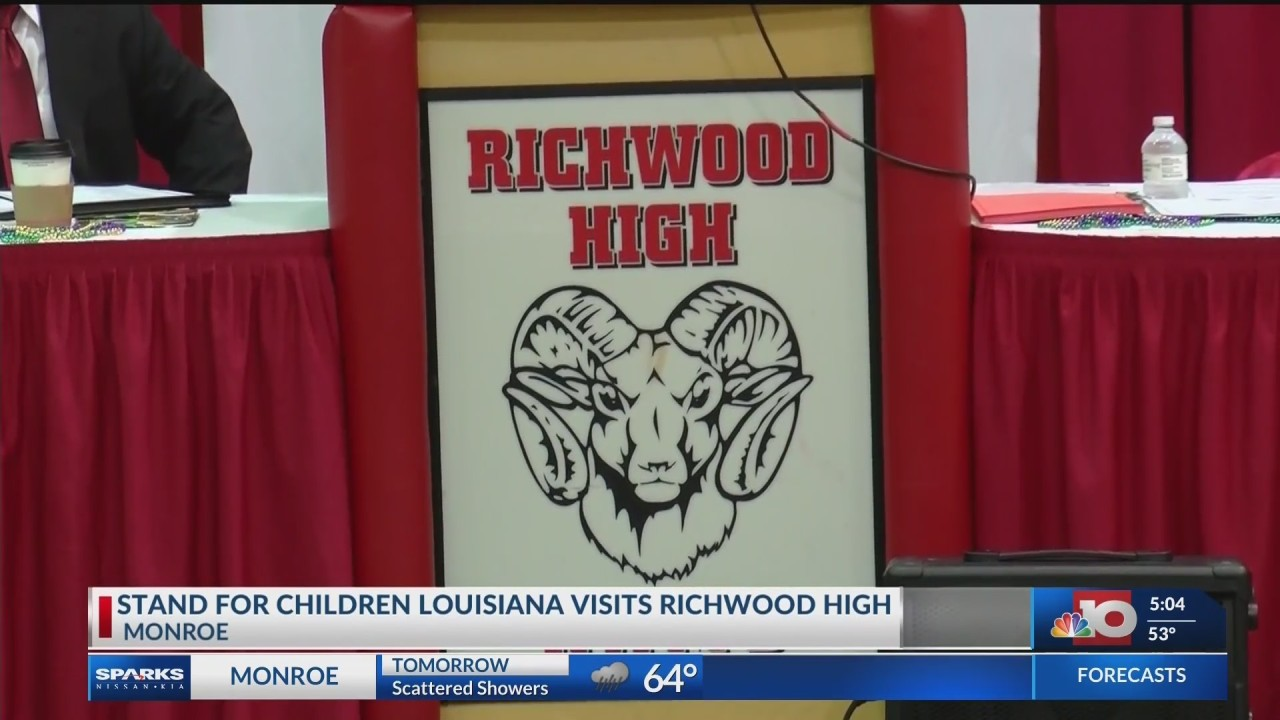 Education leaders stopped by Richwood High for ideas to improve