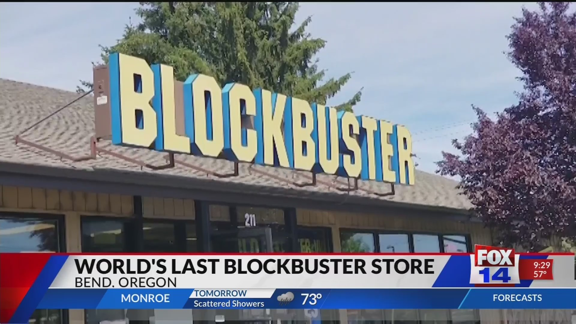 World's last blockbuster store