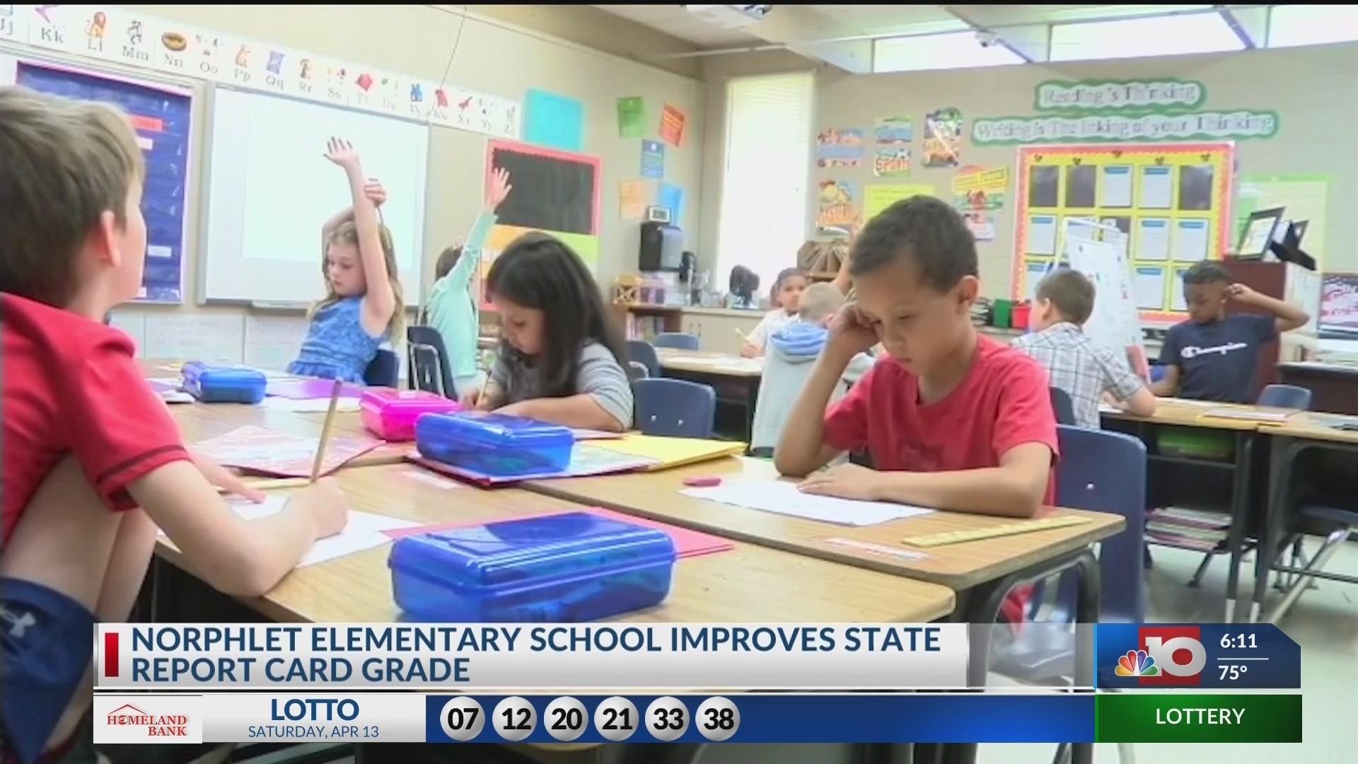 Arkansas releases performance report, Norphlet Elementary school saw improvements