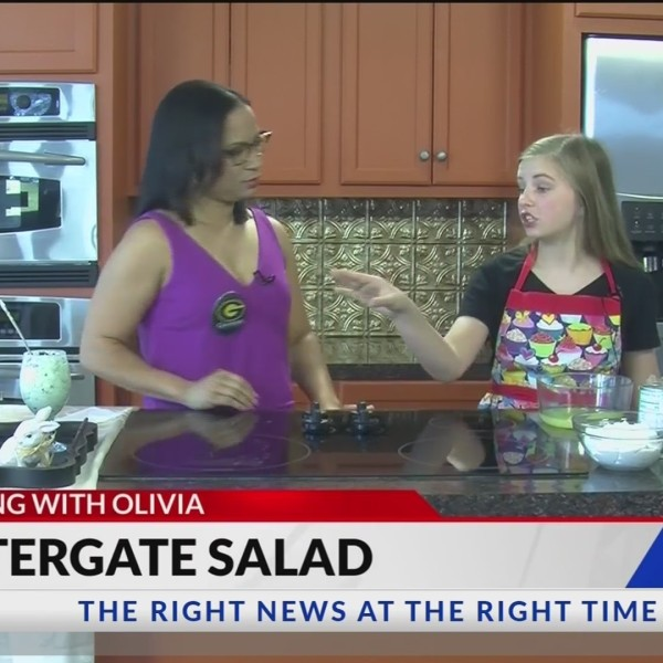 Cooking with Olivia: Watergate Salad