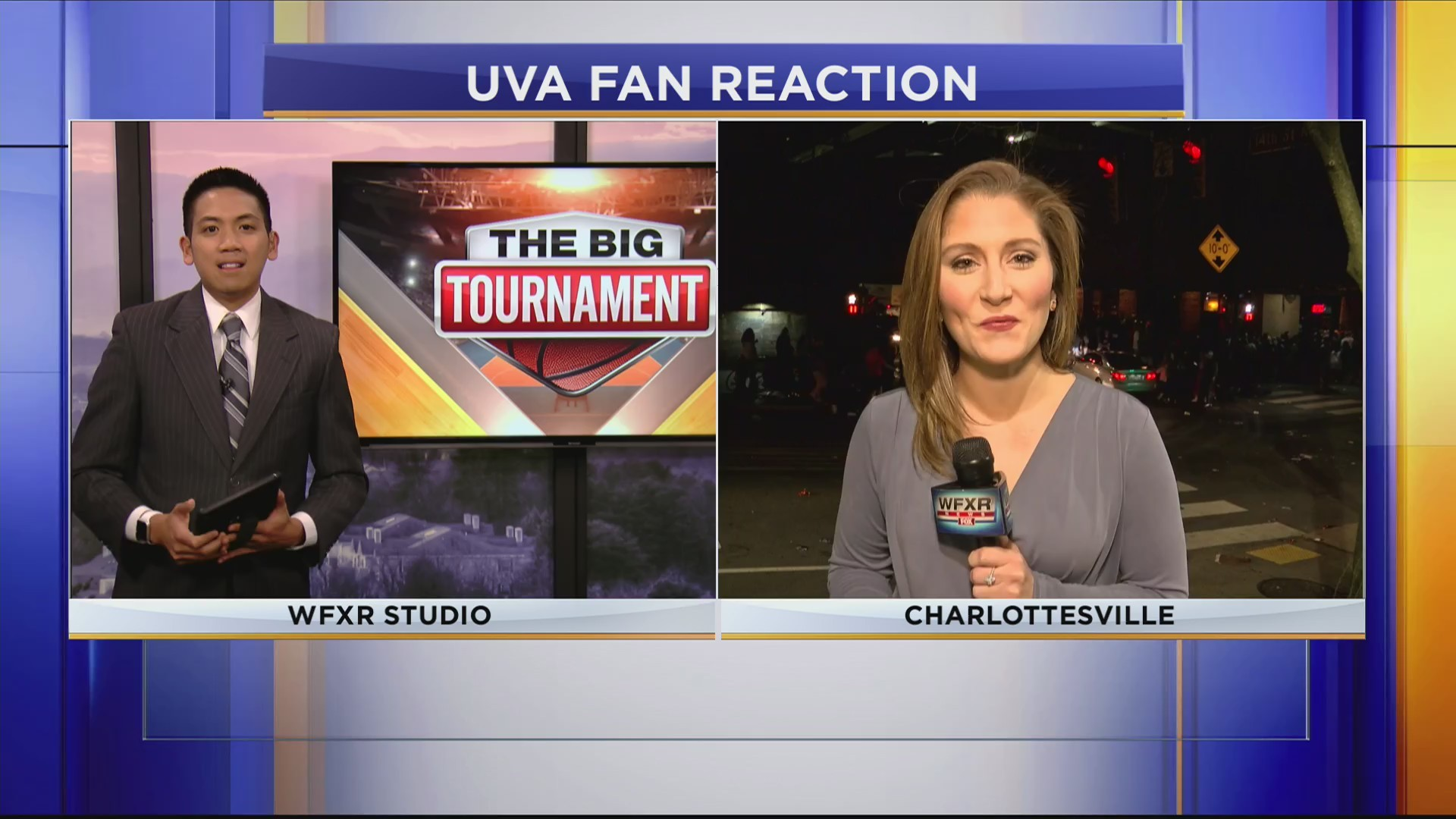 Party Continues In Charlottesville Hours After UVA Victory