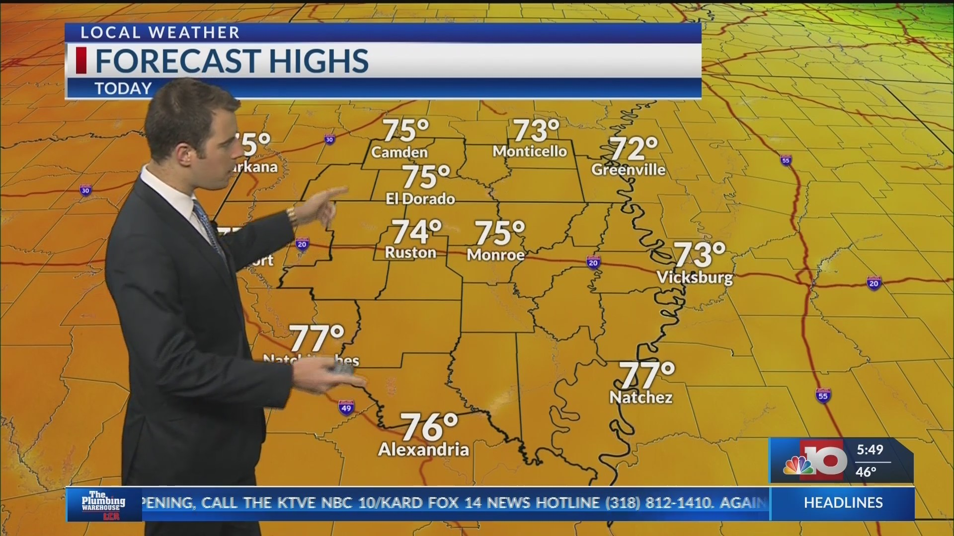 weather forecast for april 13 2020
