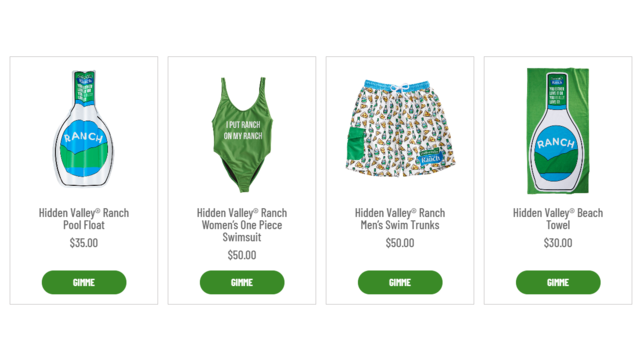 Hidden Valley Ranch launches summer clothing, accessories line