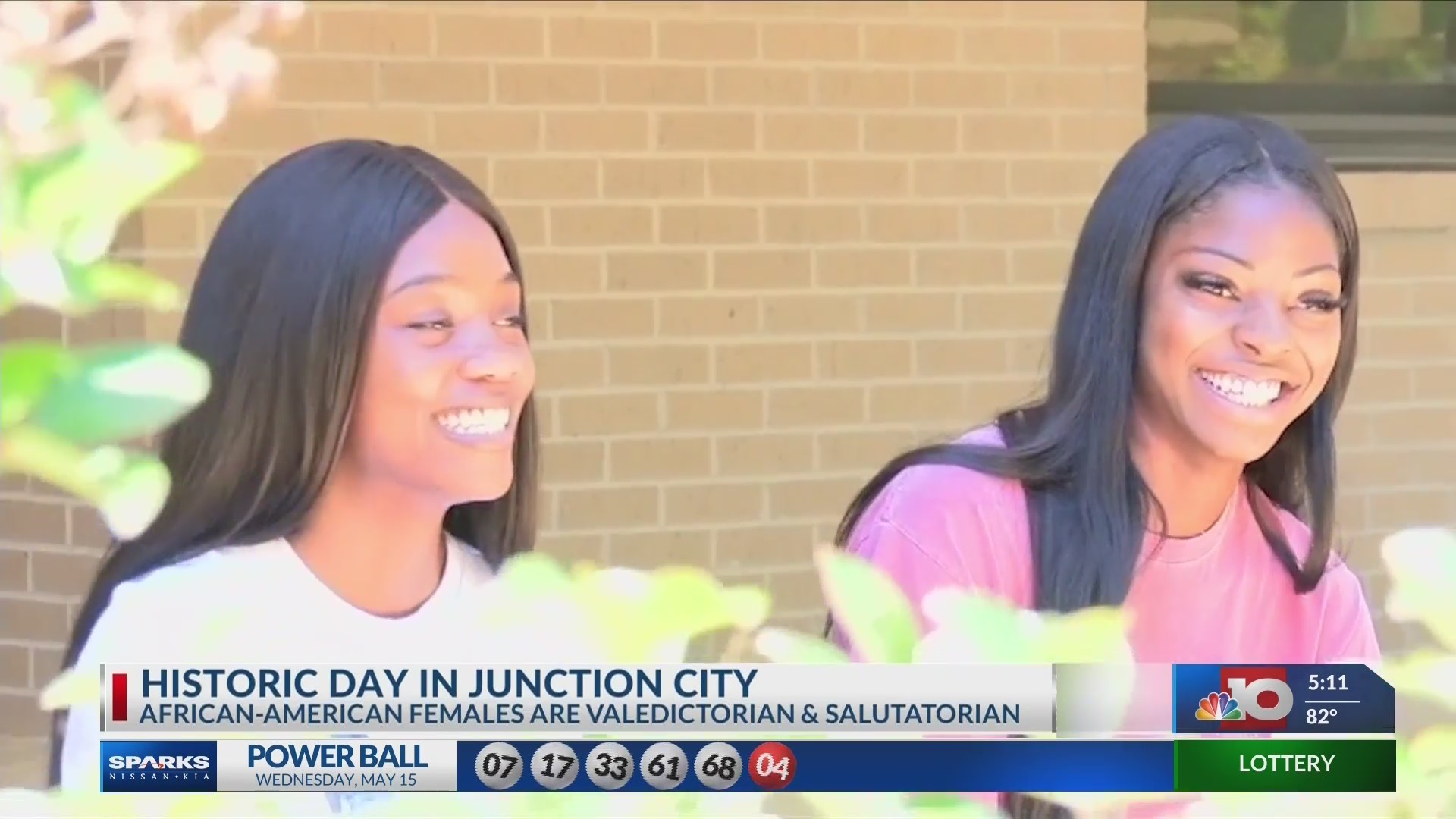 For the first time in the Junction School District history, there are two African American women to rank at the top of their class.