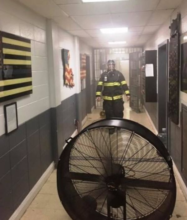 Fire at one Louisiana jail forces evacuation of inmates