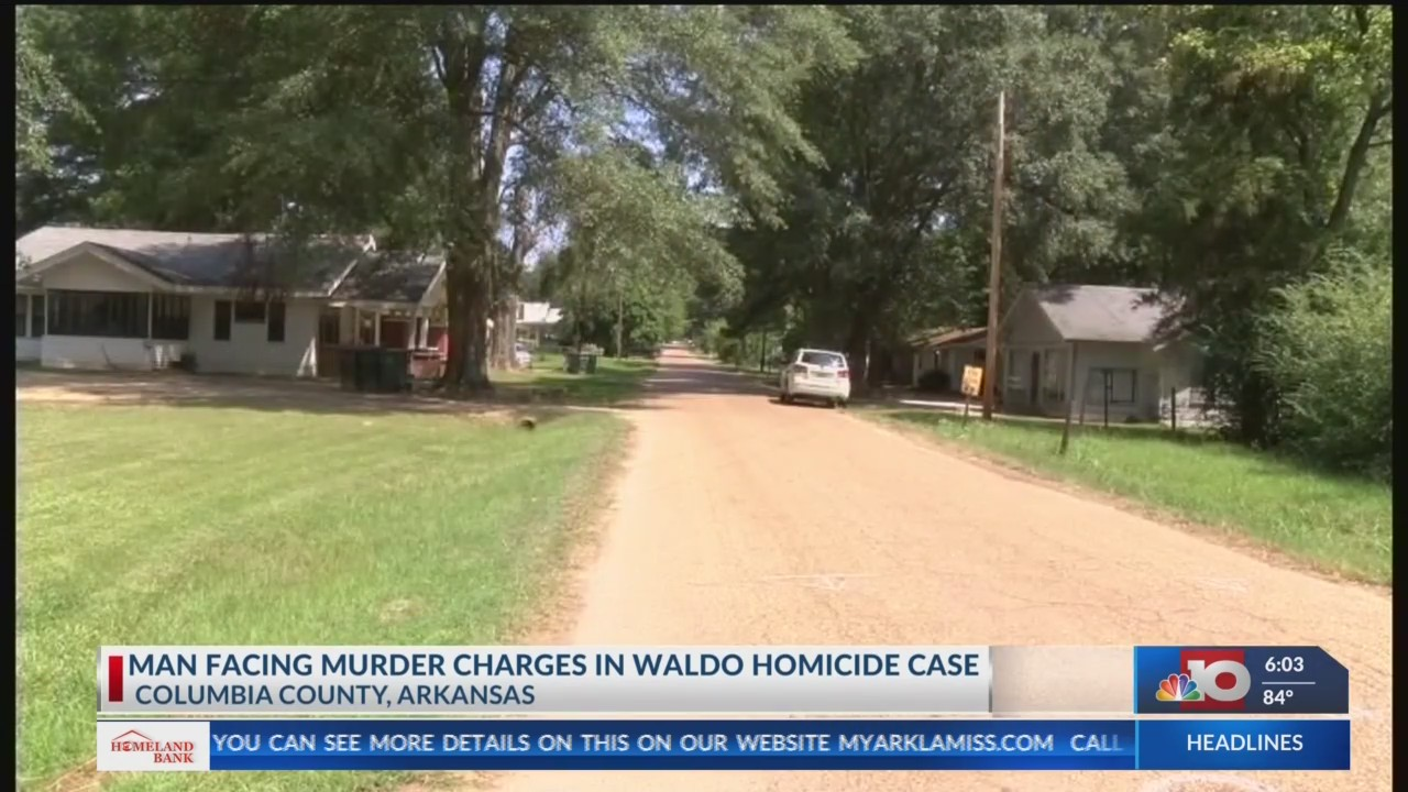 Man arrested for Waldo homicide | KTVE - myarklamiss com