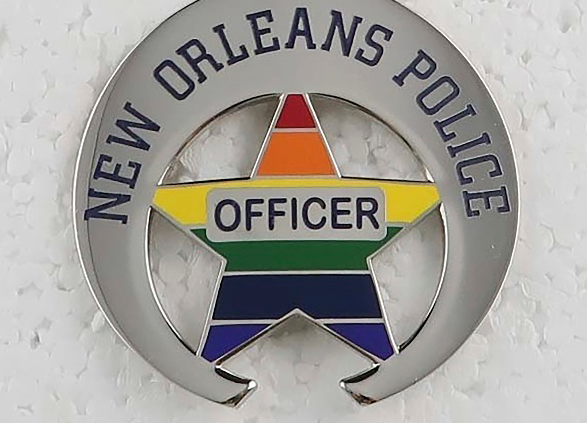 New Orleans police sport 'Pride Edition Badges' for weekend