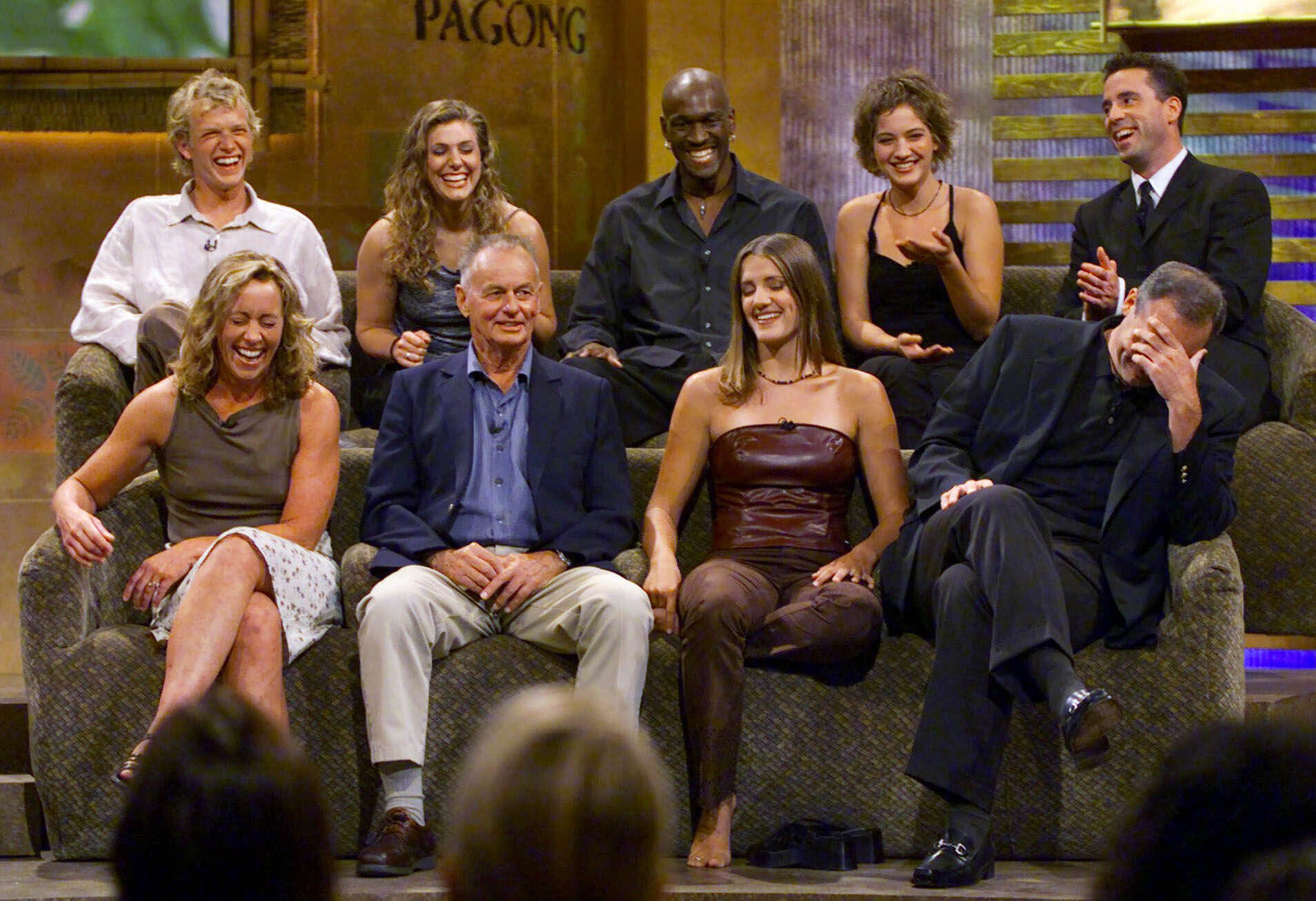 Susan Hawk, Rudy Boesch, Kelly Wiglesworth, Richard Hatch, Greg Buis, Jenna Lewis, Gervase Peterson, Colleen Haskell, Sean Kenniff