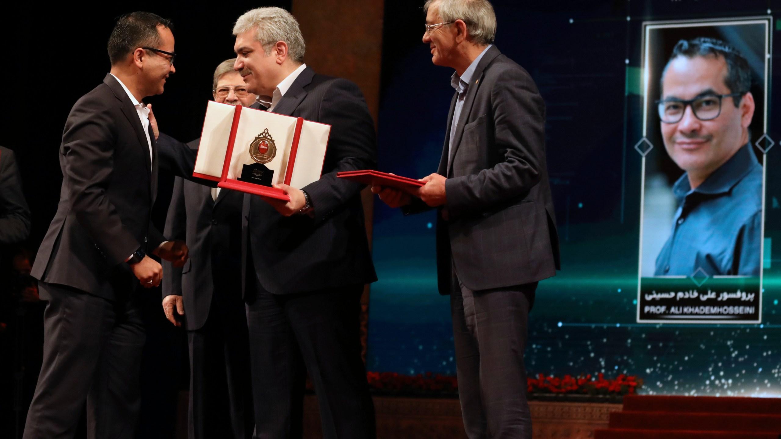 Sourena Sattari, Ali Khademhosseini