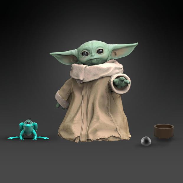 Star Wars Black Series Mandalorian The Child Baby Yoda In Hand New Case Fresh