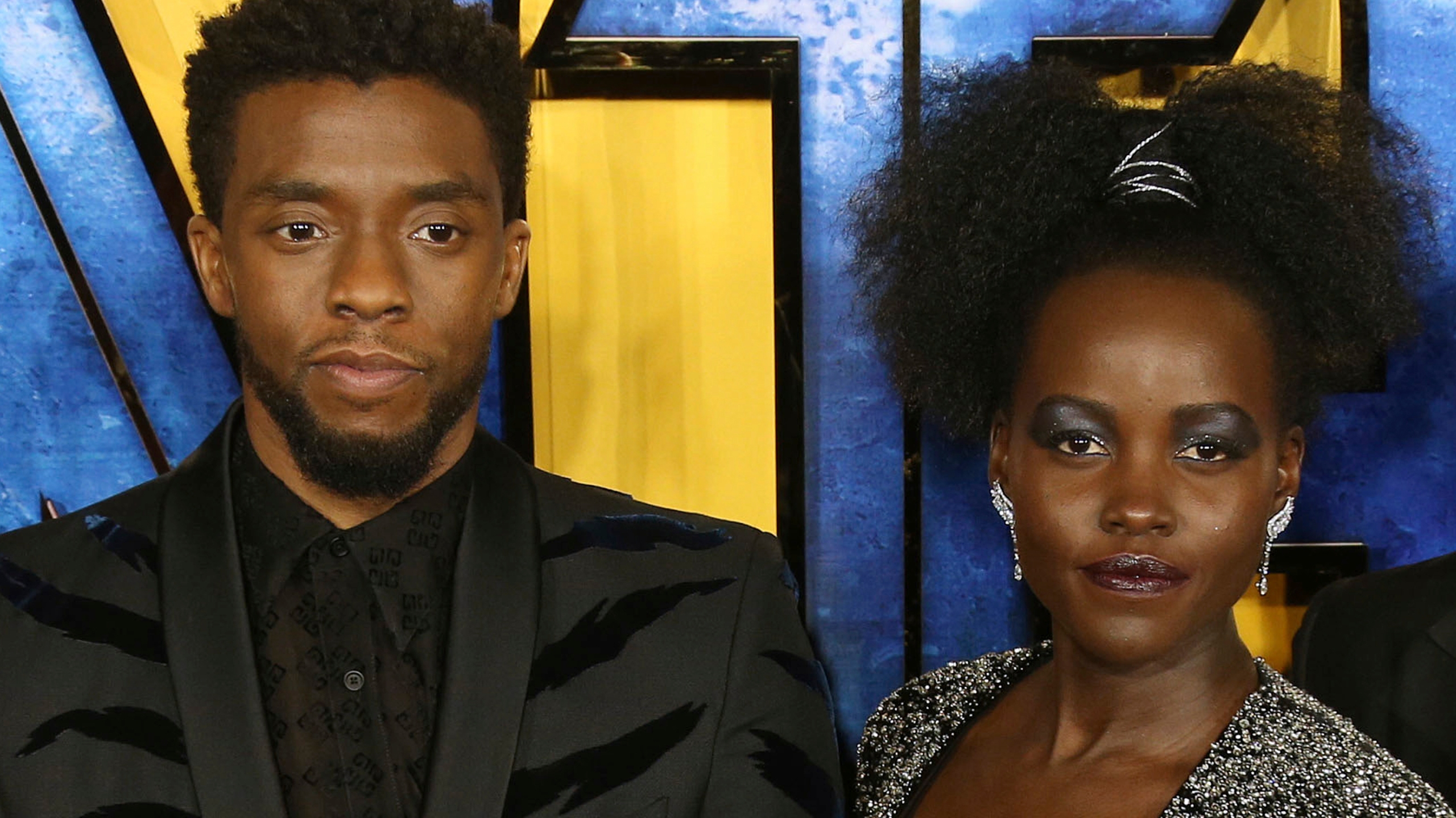 Chadwick Boseman, Lupita Nyong'o