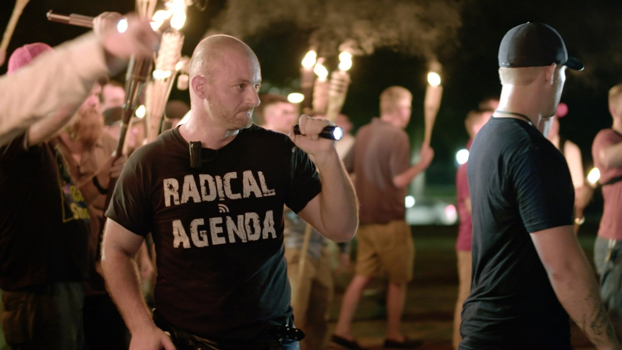 Crying Nazi Christopher Cantwell Surrenders to Police