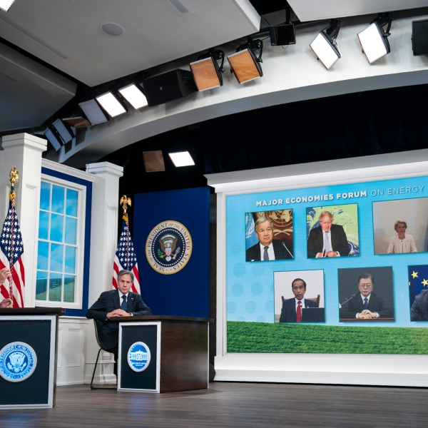 Joe Biden, Antony Blinken